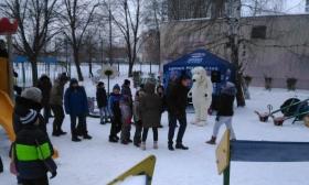 Партийцы Южного Тушина провели зимний праздник двора