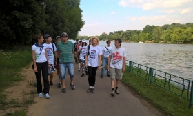 Активисты строгинского отделения «Единой России» провели эко-рейд по территории Троице-Лыкова и наметили новые пути развития этого уникального уголка столицы