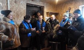 «Моржей»-единороссов поздравили, не отходя от полыньи