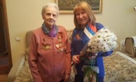 Активисты Партии поздравили ветеранов с днём Победы!