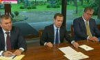 Дмитрий Медведев встретился с руководством «Единой России»