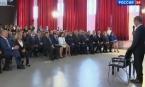 """Дмитрий Медведев в репортаже телеканала """"Россия-24"""""""